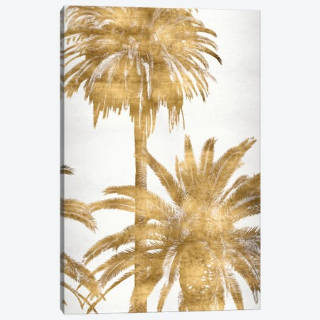 Golden Palms Panel IV Canvas Print #KAB19} by Kate Bennett Canvas Wall Art