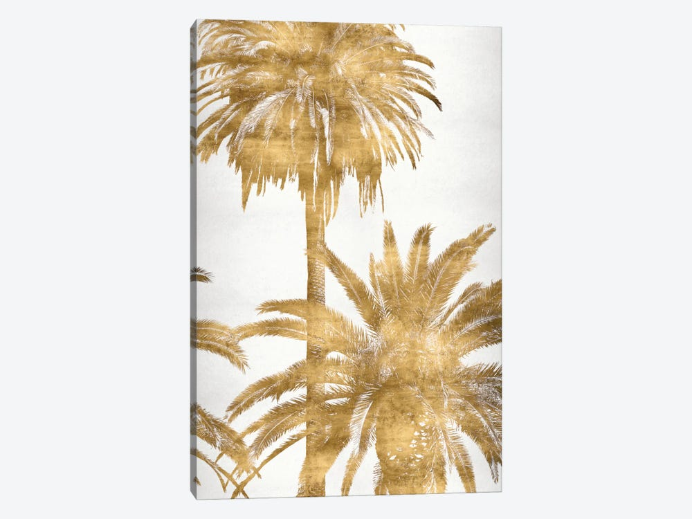 Golden Palms Panel IV 1-piece Canvas Art Print