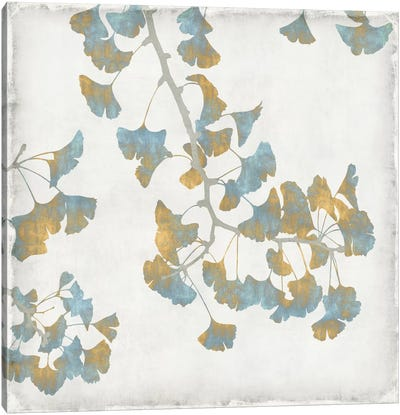 Ginkgo Branches I Canvas Art Print