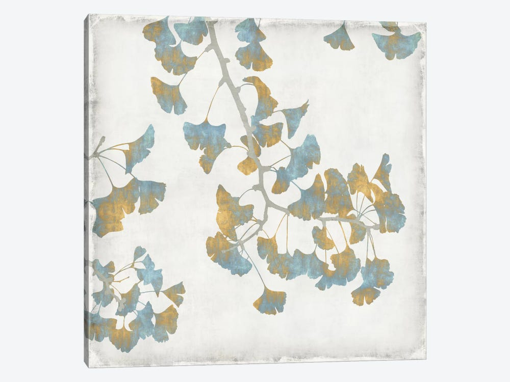 Ginkgo Branches I by Kate Bennett 1-piece Canvas Artwork