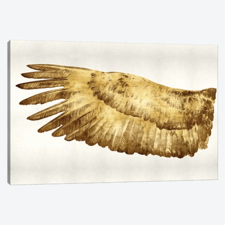 Golden Wing I Canvas Print #KAB20} by Kate Bennett Canvas Art Print