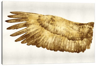 Golden Wing I Canvas Print #KAB20