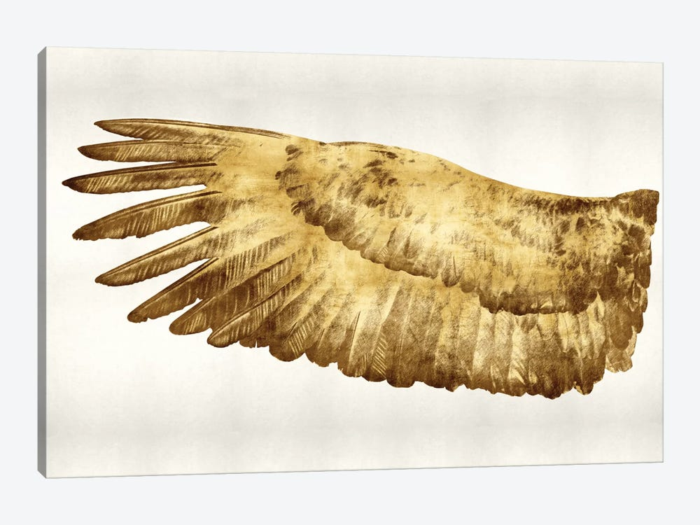 Golden Wing I by Kate Bennett 1-piece Canvas Print