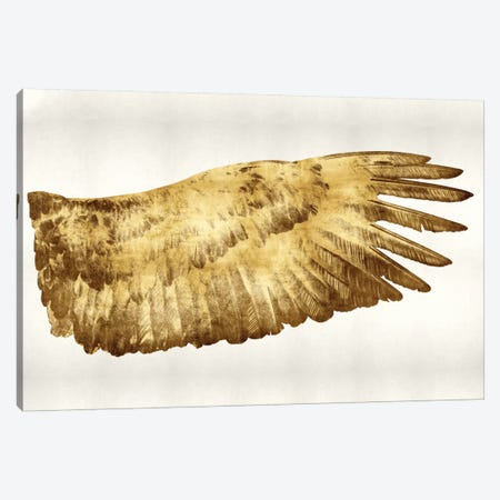 Golden Wing II Canvas Print #KAB21} by Kate Bennett Canvas Print