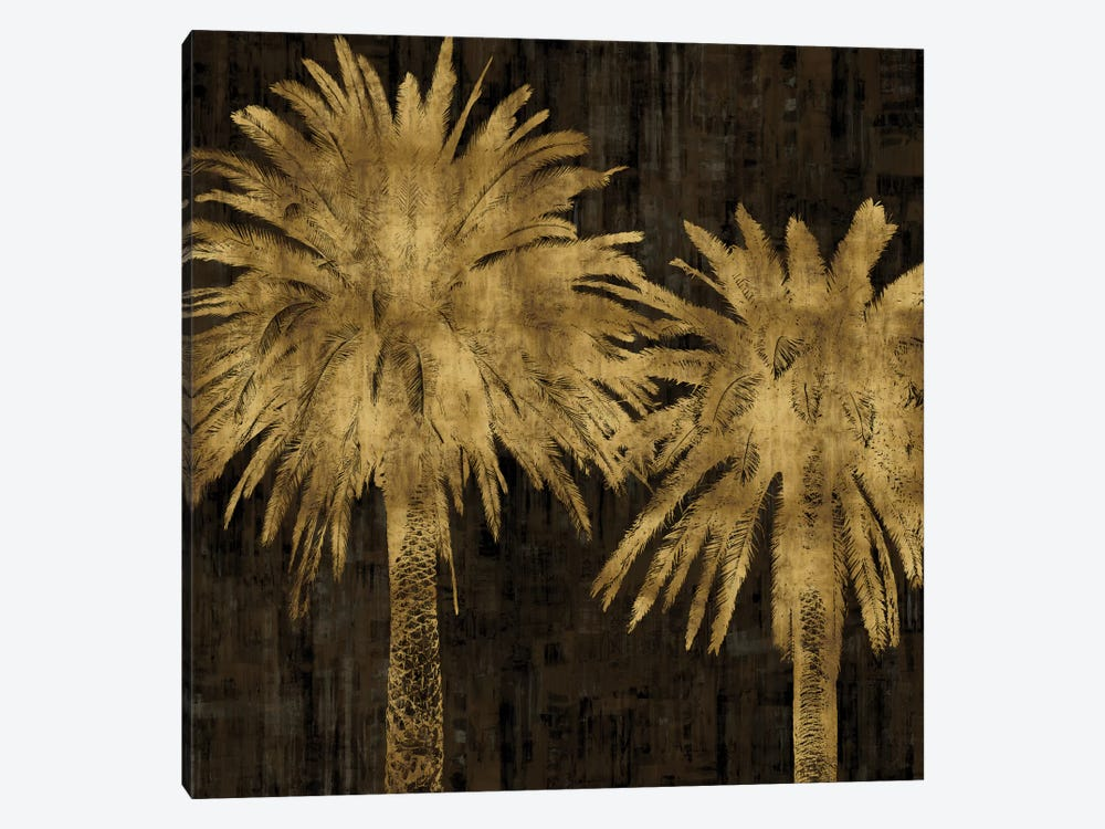 Palms In Gold II by Kate Bennett 1-piece Art Print