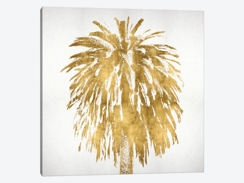 Palms In Gold III by Kate Bennett 1-piece Canvas Wall Art