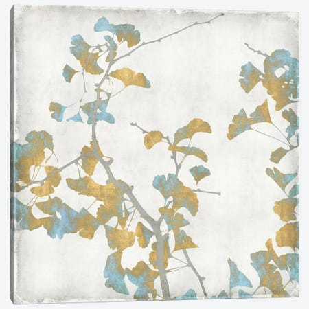 Ginkgo Branches II Canvas Print #KAB2} by Kate Bennett Canvas Art Print