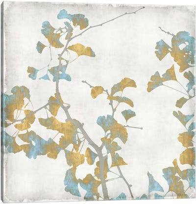 Ginkgo Branches II Canvas Art Print