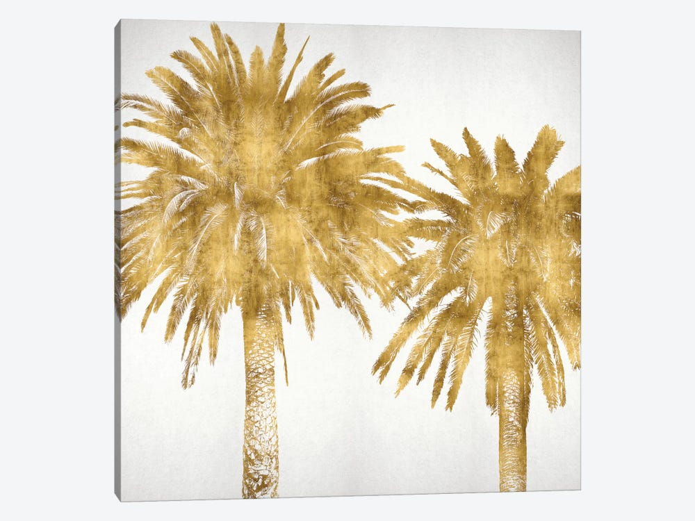 Palms In Gold IV by Kate Bennett 1-piece Canvas Artwork