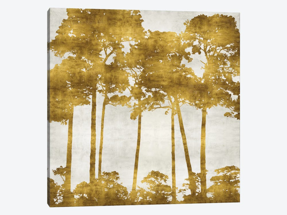 Tree Lined In Gold II by Kate Bennett 1-piece Canvas Art Print