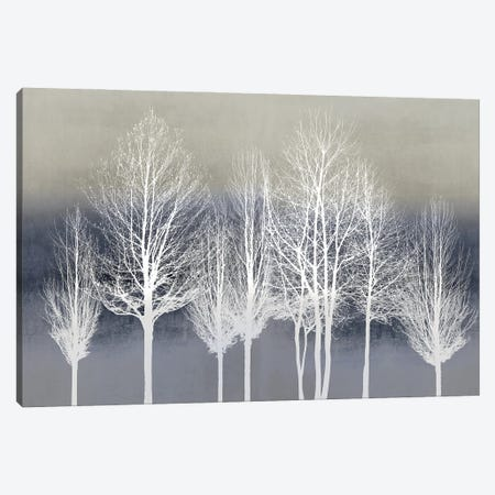 Trees On Blue Canvas Print #KAB85} by Kate Bennett Canvas Art