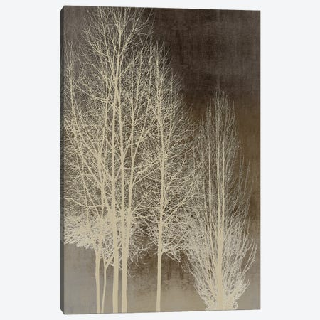 Trees On Brown Panel I Canvas Print #KAB87} by Kate Bennett Canvas Art