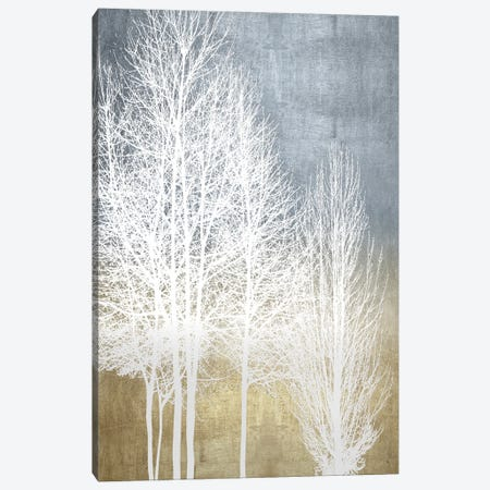 Trees On Gold Panel I Canvas Print #KAB90} by Kate Bennett Canvas Artwork