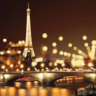 Bild 70x100cm Ekaterina More Big City Lights handsignierter Kunstdruck