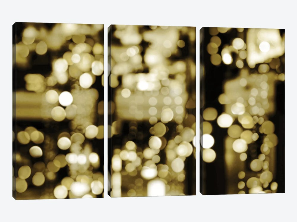 Golden Reflections by Kate Carrigan 3-piece Canvas Artwork