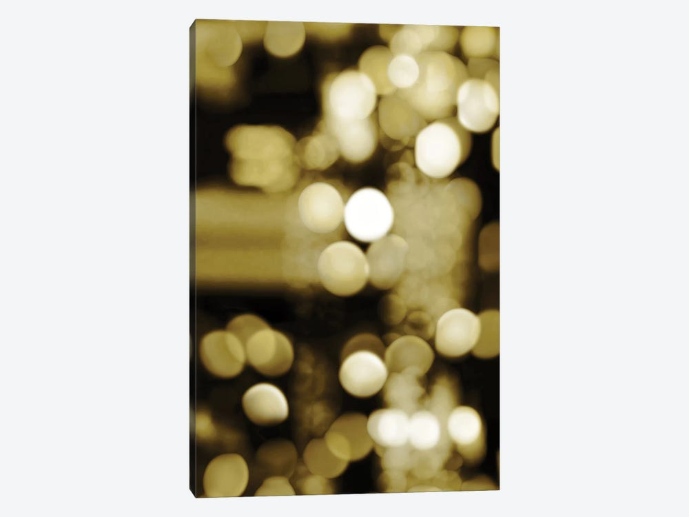 Golden Reflections Triptych I by Kate Carrigan 1-piece Canvas Art Print