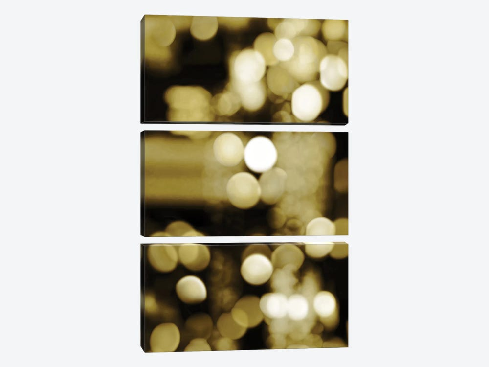 Golden Reflections Triptych I by Kate Carrigan 3-piece Canvas Print