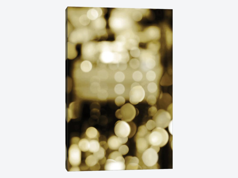 Golden Reflections Triptych II by Kate Carrigan 1-piece Canvas Wall Art