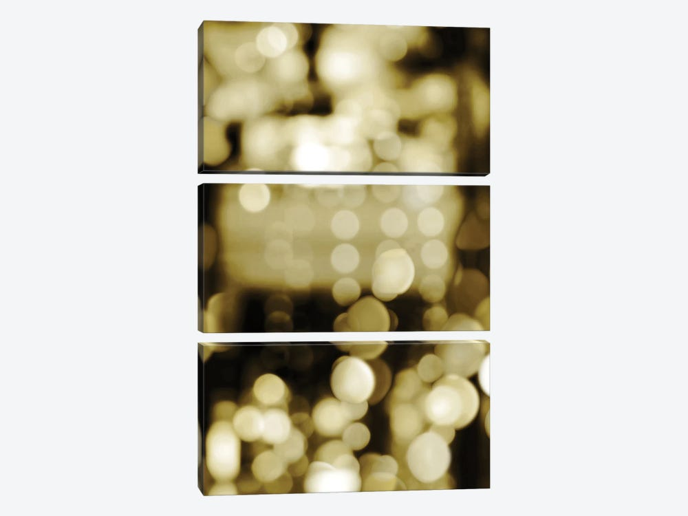 Golden Reflections Triptych II by Kate Carrigan 3-piece Canvas Art