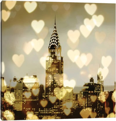 I Love NY I Canvas Art Print