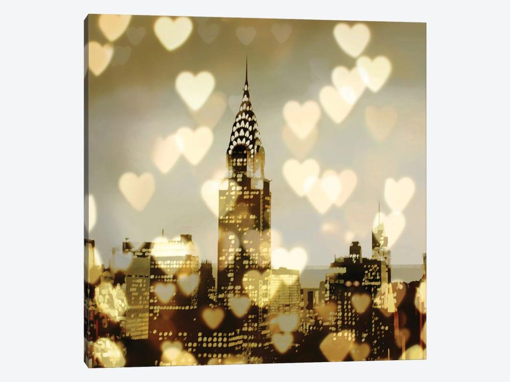 I Love NY I by Kate Carrigan 1-piece Art Print