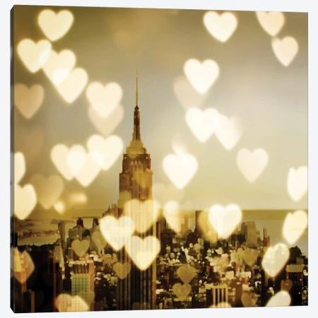 I Love NY II Canvas Print #KAC22} by Kate Carrigan Canvas Art