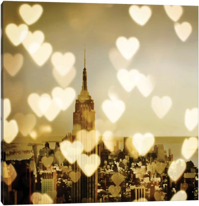 I Love NY II Canvas Art Print