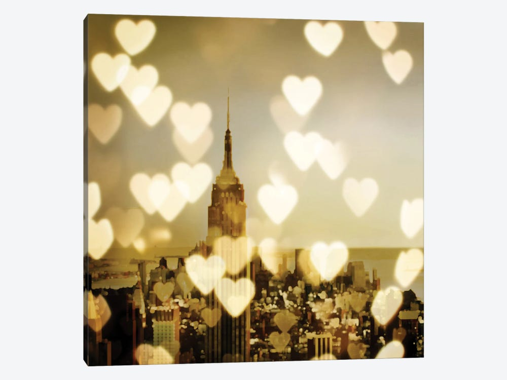 I Love NY II by Kate Carrigan 1-piece Canvas Wall Art