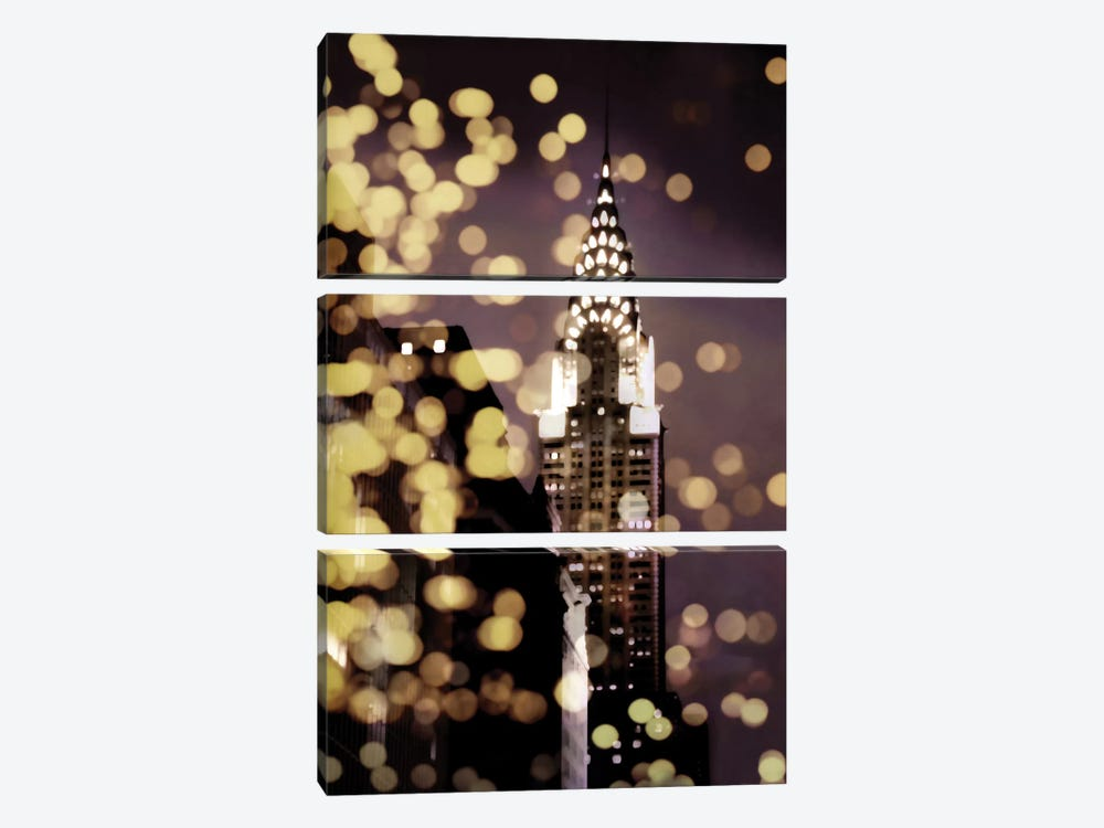 Icon-NYC by Kate Carrigan 3-piece Canvas Art Print