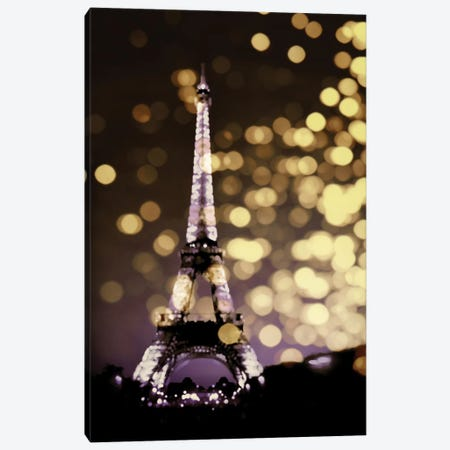 Icon-Paris Canvas Print #KAC24} by Kate Carrigan Canvas Art Print