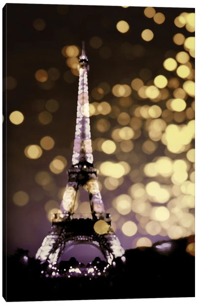 Icon-Paris Canvas Art Print