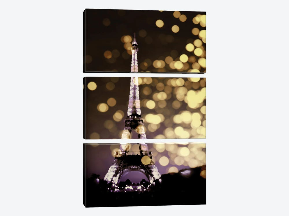 Icon-Paris by Kate Carrigan 3-piece Canvas Art