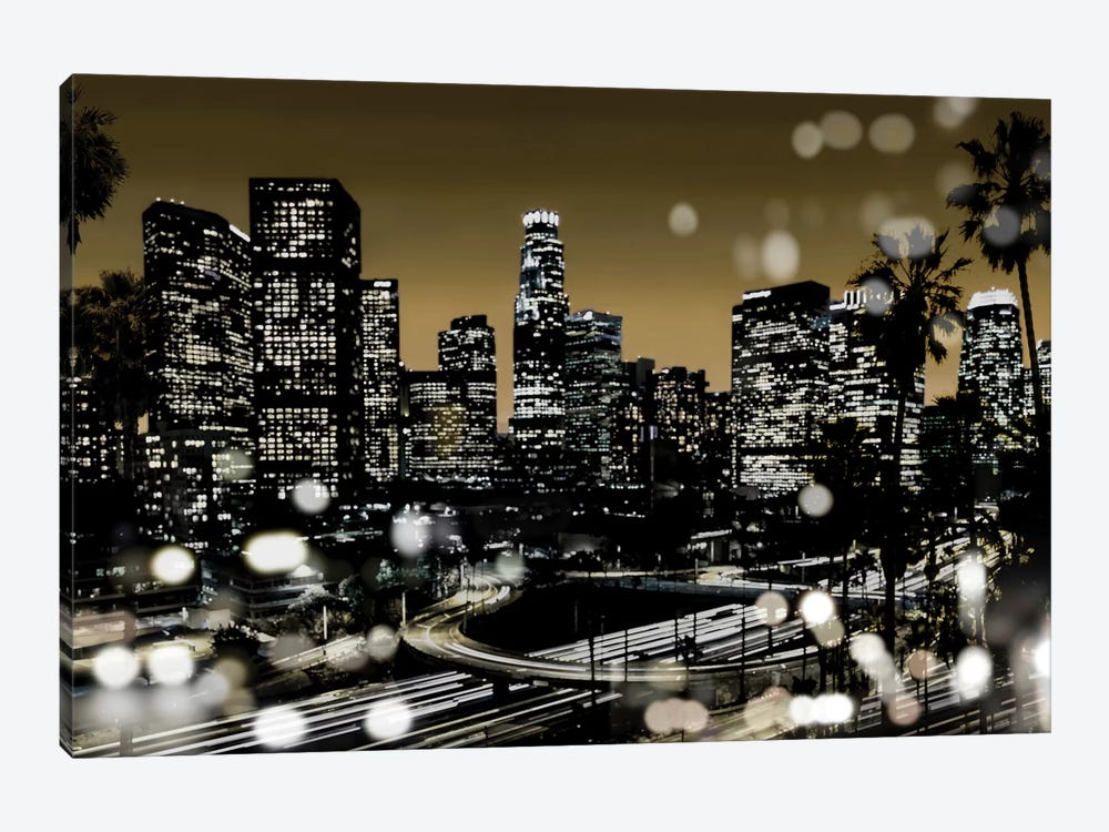 L.A. Nights I by Kate Carrigan 1-piece Canvas Artwork