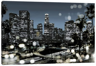 L.A. Nights II Canvas Art Print