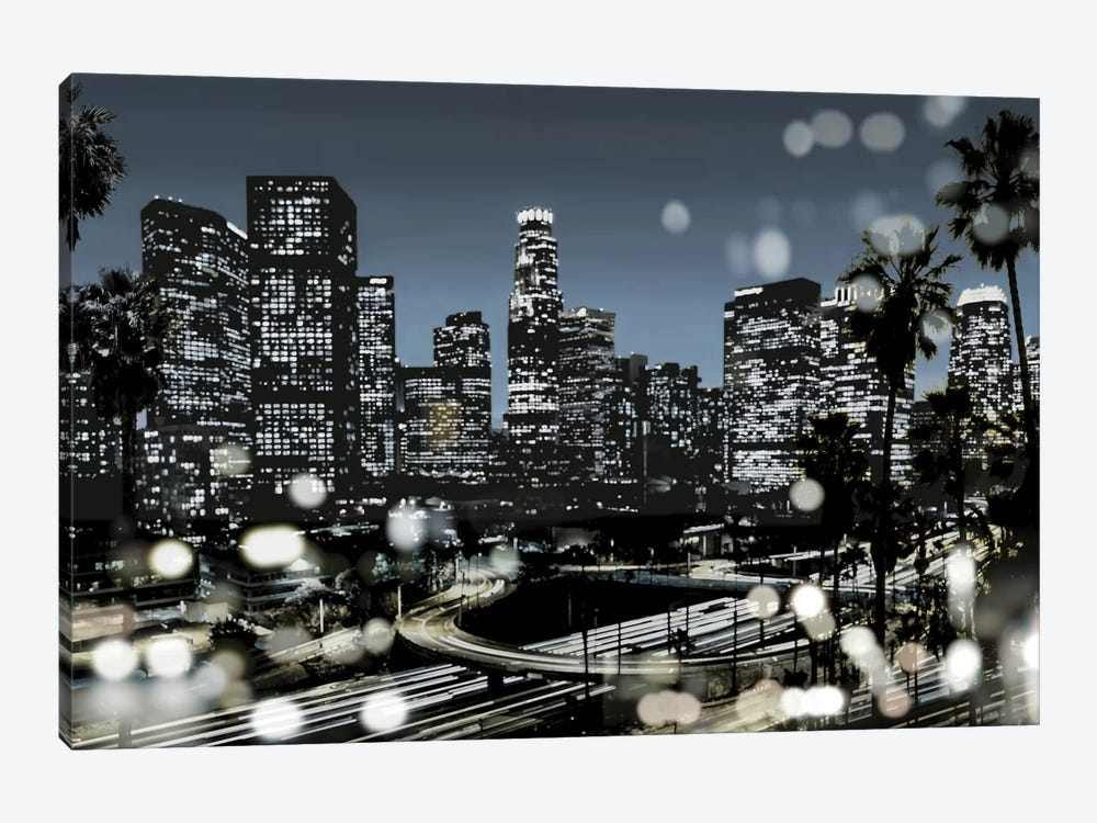 L.A. Nights II by Kate Carrigan 1-piece Art Print