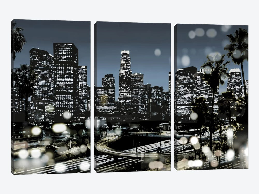 L.A. Nights II by Kate Carrigan 3-piece Art Print