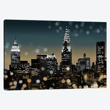 New York I 3-Piece Canvas #KAC31} by Kate Carrigan Art Print