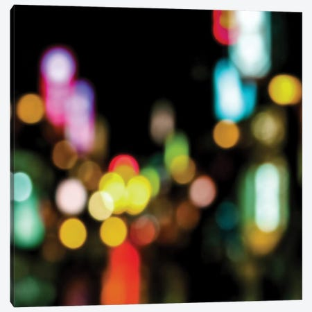 Night Lights Canvas Print #KAC33} by Kate Carrigan Canvas Art Print
