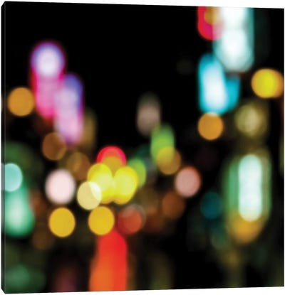 Night Lights Canvas Art Print