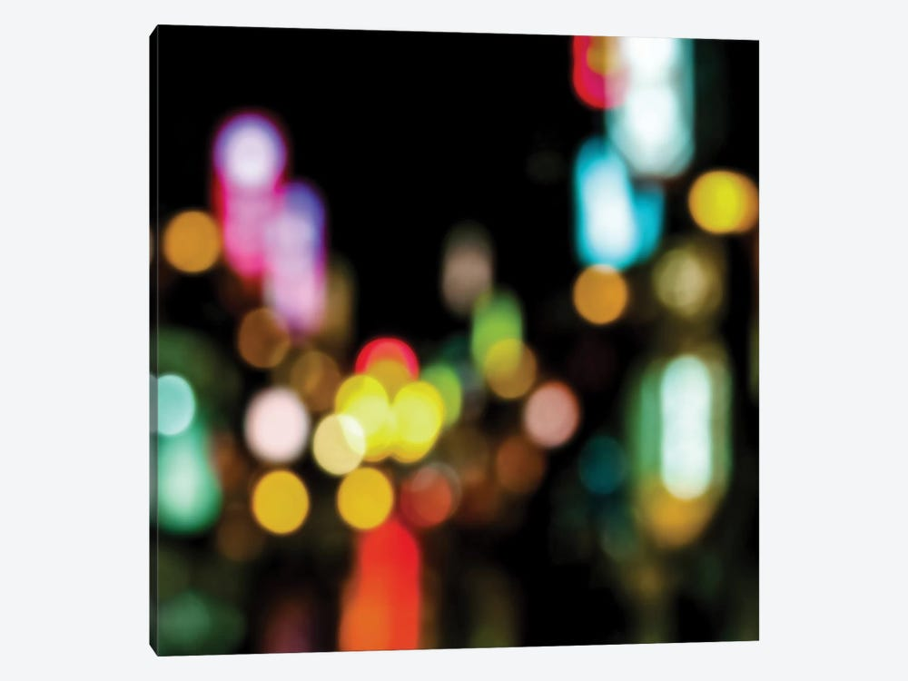 Night Lights by Kate Carrigan 1-piece Canvas Art