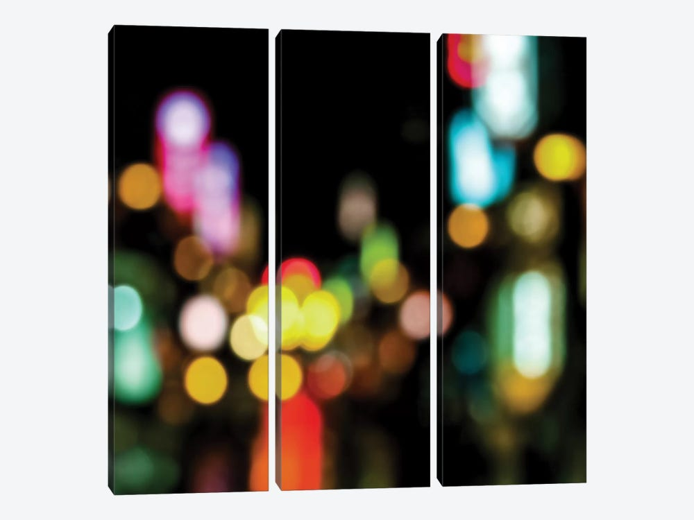 Night Lights by Kate Carrigan 3-piece Canvas Art