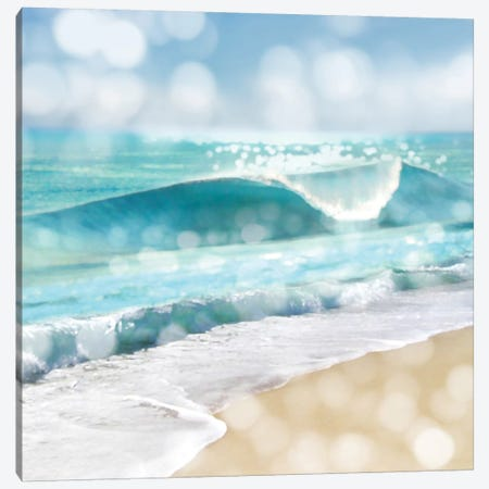 Ocean Reflections I Canvas Print #KAC39} by Kate Carrigan Art Print