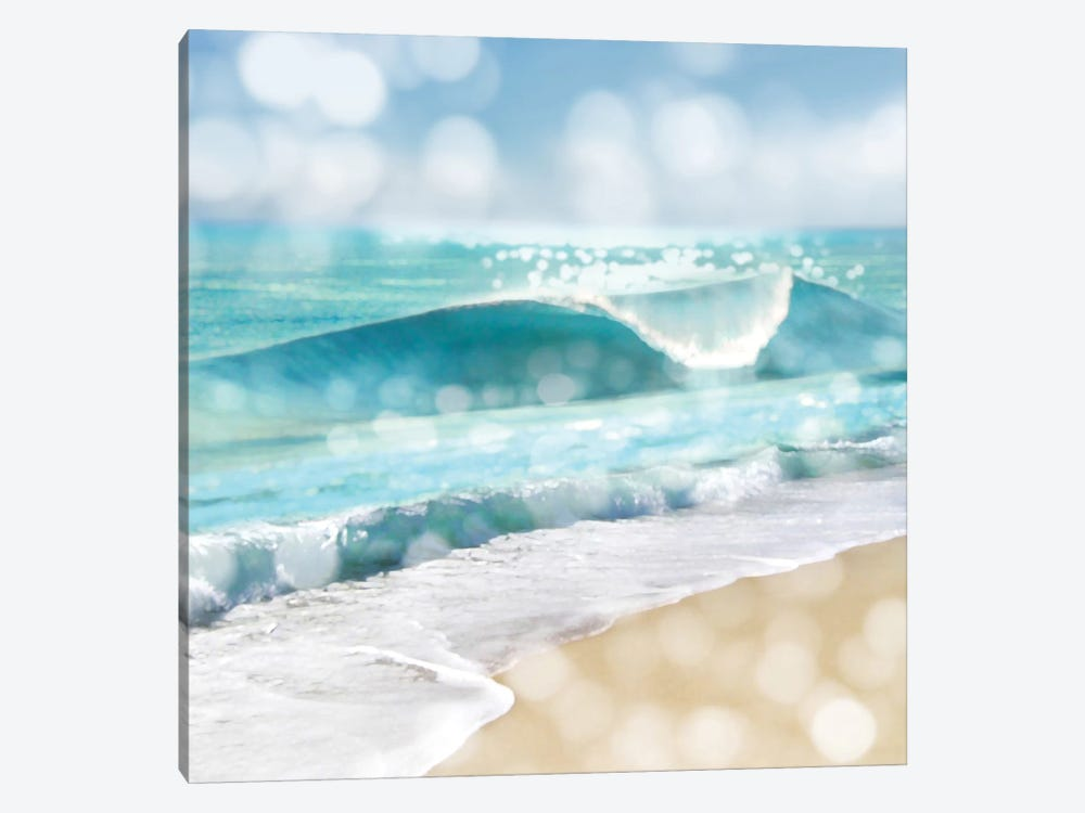 Ocean Reflections I by Kate Carrigan 1-piece Canvas Artwork