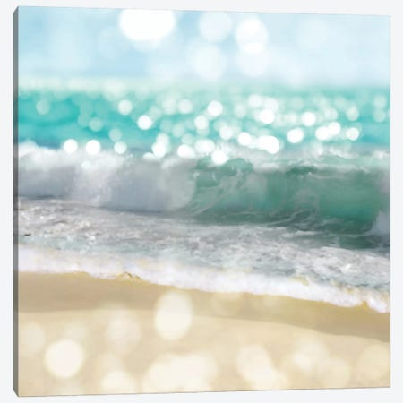Ocean Reflections II Canvas Print #KAC40} by Kate Carrigan Canvas Artwork