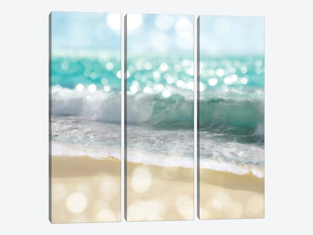 Ocean Reflections II by Kate Carrigan 3-piece Canvas Art