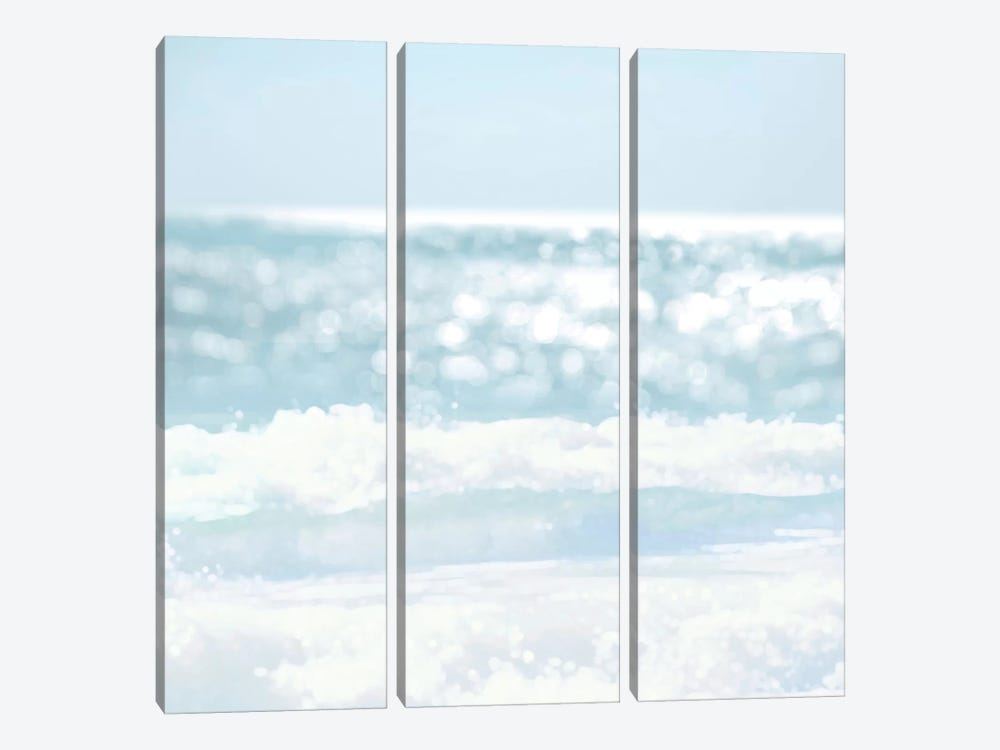 Serene Reflection II by Kate Carrigan 3-piece Canvas Print