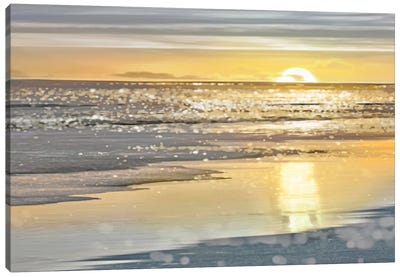 That Sunset Moment Canvas Art Print