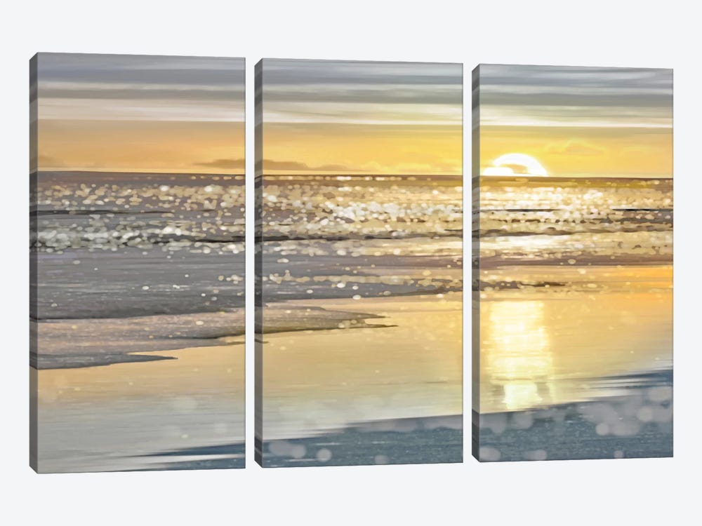That Sunset Moment by Kate Carrigan 3-piece Canvas Artwork