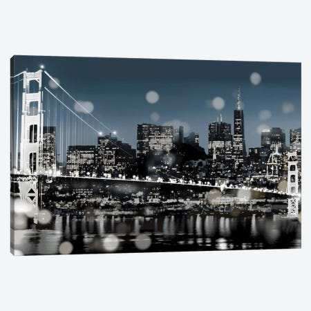 The City-San Francisco Canvas Print #KAC47} by Kate Carrigan Art Print