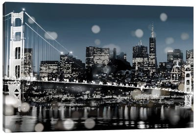 The City-San Francisco Canvas Art Print